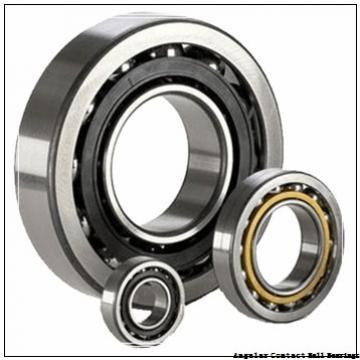 55 mm x 100 mm x 21 mm  TIMKEN 7211WN  Angular Contact Ball Bearings