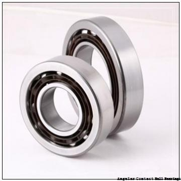 1.181 Inch | 30 Millimeter x 2.835 Inch | 72 Millimeter x 0.748 Inch | 19 Millimeter  SKF 7306PDU-BRZ  Angular Contact Ball Bearings