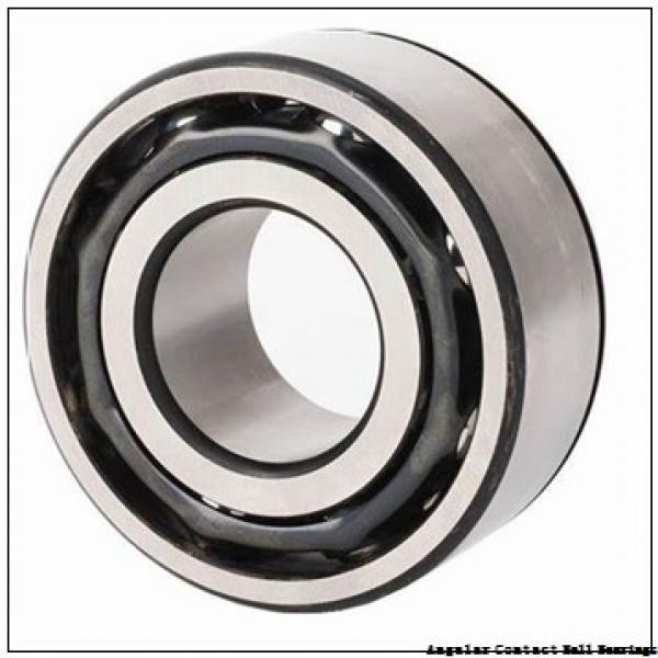 0.472 Inch | 12 Millimeter x 1.26 Inch | 32 Millimeter x 0.626 Inch | 15.9 Millimeter  EBC 5201 2RS  Angular Contact Ball Bearings #2 image