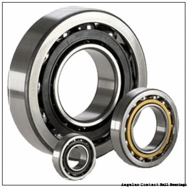 55 mm x 100 mm x 33.3 mm  SKF 3211 A-2RS1  Angular Contact Ball Bearings #2 image