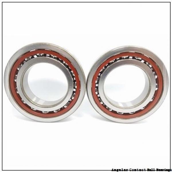 0.472 Inch | 12 Millimeter x 1.26 Inch | 32 Millimeter x 0.626 Inch | 15.9 Millimeter  EBC 5201 2RS  Angular Contact Ball Bearings #1 image
