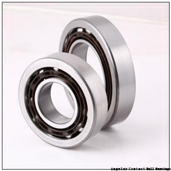 1.181 Inch | 30 Millimeter x 2.835 Inch | 72 Millimeter x 1.189 Inch | 30.2 Millimeter  EBC 5306 2RS  Angular Contact Ball Bearings #1 image