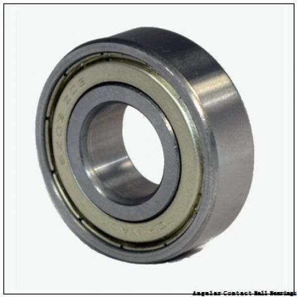 0.472 Inch | 12 Millimeter x 1.26 Inch | 32 Millimeter x 0.626 Inch | 15.9 Millimeter  EBC 5201 ZZ  Angular Contact Ball Bearings #2 image